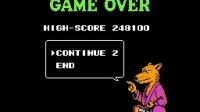 猴子_爱儿双人实况解说《忍者神龟》3代(日版2代)下篇:还是接关了