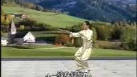 吴阿敏三十二式太极剑正面演示