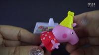 #131 粉红猪小妹 康蒂猫 生日派对 礼物 女孩玩具 玩具妈妈Peppa Pig Birthday VO
