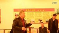 共和国将军新村出席军民联欢迎春笔会及画展开幕式,并考察深圳版画村