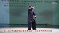 陈正雷大师在世界太极拳锦标赛上作精彩表演