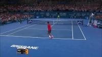 【零凌网球】比赛篇——2015布里斯班 - 费德勒VS拉奥尼奇