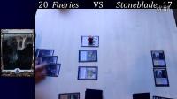 MTG Legacy Faerie VS Stoneblade - Runde 1 20150219