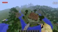 我的世界超精致建筑地图【中世纪双子塔】