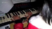 印第安鼓 简易 约翰.汤普森教程   7岁女童Apple自学用电子琴弹钢琴指法