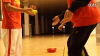 《好动学院》乒乓球训练前的热身运动:神经激活的练习方法_乒乓球教学视频教程