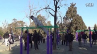 Parallel bars show in chinese new year:B