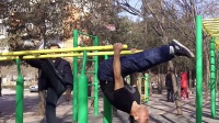 Parallel bars show in chinese new year:C
