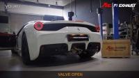 法拉利 458 Speciale X Fi Exhaust X PP performance 狂轰油门排气声浪!!!