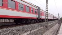 【拍客】西瓜DF4B牵引03257次通过去汉丹线唐县镇站方向