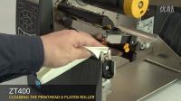 ZT400 清洁打印头及胶辊(英语无字幕)