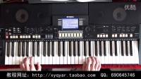 牵手(经典老歌) 电子琴演奏 阿荣 36技示范视频