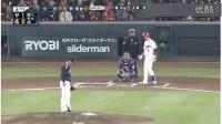 3-27 野手・前田健太 エース小川から華麗なバッティングを披露 開幕戦 東京ヤクルト