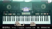 断桥残雪(流行金曲) 阿荣电子琴演奏 钢琴奏法 36技示范视频