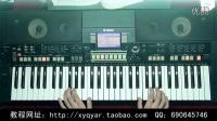 爱的世界只有你(网络歌曲) 阿荣电子琴演奏 (钢琴奏法) 36技示范