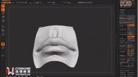 ZBrush嘴巴的雕刻 CG游戏建模教程 高模制作