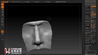 ZBrush鼻子的雕刻 CG游戏建模教程 高模制作
