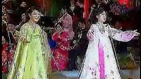 北朝鲜牡丹峰乐团连唱中国红歌_标清