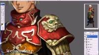 (有声教程)刺客角色的绘制 第三课 PS游戏原画设计CG插画教程