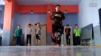 曳步舞鬼步舞_蟲虸【组合步齐舞_3期】教学教程详解Shuffle