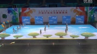 北京市学生艺术节行进旗舞展演~~海淀实验小学《飞越彩虹》
