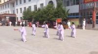 2015-5-1成武中山公园华武扇表演
