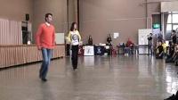 排舞  It's Not OK 这是不好的 64拍2方向 BY Sam&Toshiko