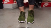 Wmns Nike Rosherun -Fadded Olive- 上脚欣赏