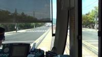 【前面展望】広島電鉄 広島駅-広電宮島口 on 5100形