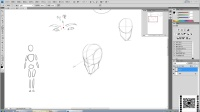 名动漫原画基础视频教程曾老师《角色》第三节 人体形体概括_0