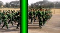 甘旗卡二中2014级八班军训片断