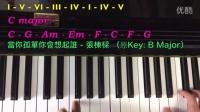 流行曲鋼琴伴奏教學 - Chord Progression