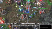【TED出品】种族荣耀对抗赛UD队长之争4进2 TeD VS Fov TS