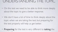 Tactics for the TOEFL: Writing 1 - Overview of the Independent Writing Task
