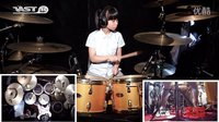 Rockschool Grade Drums Ⅱ 1 _ All right now - Drum cover by 王谞如