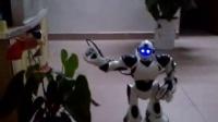 智能机器太空机器人表演  钻王礼仪服务热线:4006-270-970