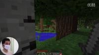 【我的世界/Minecraft】菜鸟口罩哥直播#第三集-挖矿惊魂