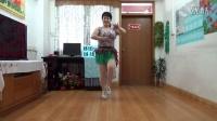 小红的舞广场舞 辣妹子 最新正背面32步 原创健身舞蹈教学版
