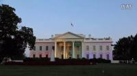 [love wins]白宫彩虹灯 The White House rainbow lights