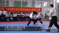 大青山陈旭vs聊城刘磊: 2015年山东省太极拳锦标赛