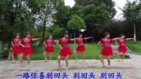 瑞昌市全民广场舞一路惊喜[正.背面原创教学版]火凤凰舞蹈队