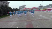 视频制作 萱子:(通辽健身操工委各晨练点表演)。
