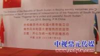 中视鼎元传媒:南苏丹国庆招待会