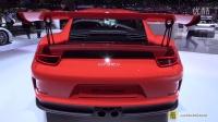 2016款保时捷911 GT3 RS 亮相2015日内瓦车展