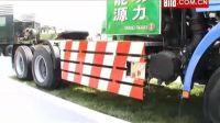 上海车展中的卡车专区