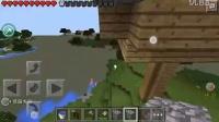 【狸猫x吐槽x伍少】minecraft pe*我的世界* 暑期生存系列③ —— 刷怪塔和房子建造