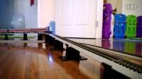 HXD3电力机车牵引客车上坡