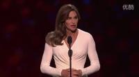 [悸花字幕组]Caitlyn Jenner在2015年ESPY获得Arthur Ashe勇气奖全程-中英双语
