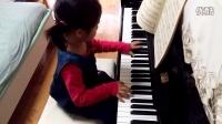 《巴赫初级钢琴曲集》(小巴赫)第2首_小步舞曲_2015.6.30