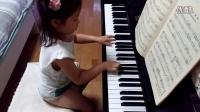 《巴赫初级钢琴曲集》(小巴赫)第1首_小步舞曲_2015.6.24
